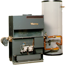 Fire Coil Water Heater & Storage Tank