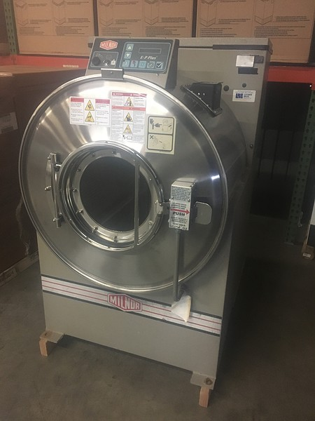 Used Milnor Washer Extractor ~ Loomis bros used laundry equipment